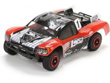Losi Micro SCTE 1:24 4WD BL RTR červená