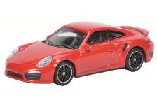 1:64 Porsche Turbo 991, red