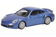 1:64 Porsche Turbo 991, blue
