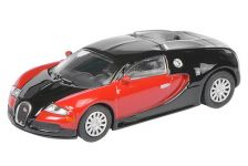 1:87 Bugatti Veyron, black/red