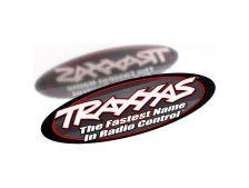 Traxxas oboustranná oválná samolepka 23x8cm