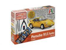 Italeri Porsche 911 Turbo (1:24) s nářadím