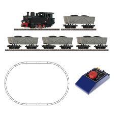 Štartset Analógový set s parnou lokomotívou