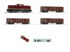 Digitálna sada obsahujúca dieselovu lokomotívu BR 115 + 3 nákladné vozy, Z21 start, mult