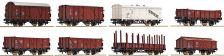 Set nákladních vozů 8ks DRG II.epocha