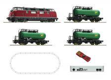 H0 Digitální set z21start - vlak s lokomotivou BR220 DB s kolejemi
