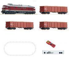 H0 Digitální set z21start - vlak s lokomotivou BR132 DR s kolejemi