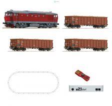 H0 - DCC start set lokomotiva T478 ČSD, z21start + MultiMaus