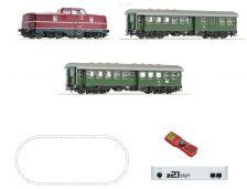 H0 - DCC start set osobní vlak s BR 280 DB, z21start + MultiMaus