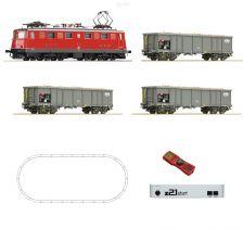 H0 - DCC start set el. lokomotiva Ae 6/6 SBB, z21start + MultiMaus