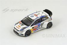 1:43 Volkswagen Polo R No.1 Volkswagen Motorsport - Winner Rally Monte Carlo 2014