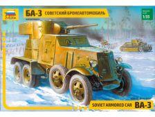 Zvezda BA-3 obrněné vozidlo (1:35)