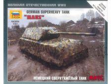 Zvezda WWII německý těžký tank Maus (1:100)