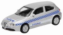 1:87 ALFA ROMEO 147 GTA POLICE SILVER