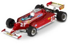 1:43 FERRARI 126 CK MONACO GP WINNER 1981 G.VILLENEUVE