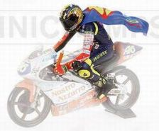 1:12 FIGURINE RIDING V.ROSSI WORLD CHAMPION GP 125 1997