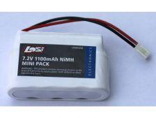 VÝPREDAJ - Mini-TMLST/2MRAM: NiMH akumulátor 7.2V 1100mAh