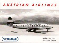 1:600 VICKERS VISCOUNT AUSTRIAN AIRWAYS