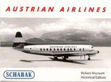 1:600 VICKERS VISCOUNT AUSTRIAN AIRWAYS
