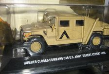 1:43 Hummer Closed Command Car U.S. Army Desert Storm 1991