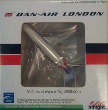 1:500 BOEING 737-2 DAN AIR LONDON