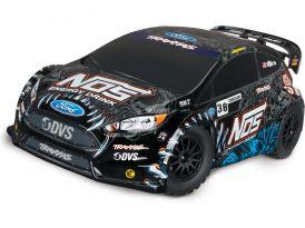 POUŽITÉ - Traxxas Ford Fiesta ST Rally 1:10 4WD Deegan TQ RTR
