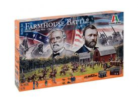 Italeri diorama americká občanská válka 1864 (1:72)