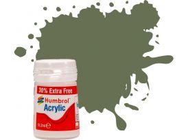 Humbrol akrylová barva #106 oceánská šedá matná 18ml