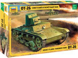 Zvezda T-26 Flamethrower (re-edice) (1:35)