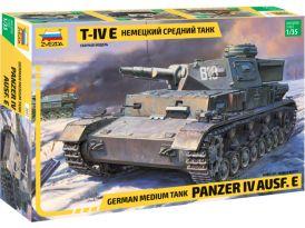 Zvezda Panzer IV Ausf.E (1:35)