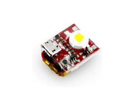 LED stroboskopické světlo červené