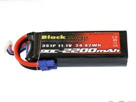 Black Magic LiPol 11.1V 2200mAh 90C EC3