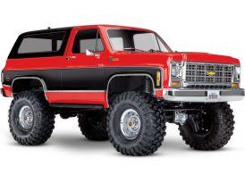 AKCIA - Traxxas TRX-4 Chevrolet K5 Blazer 1:10 RTR červený