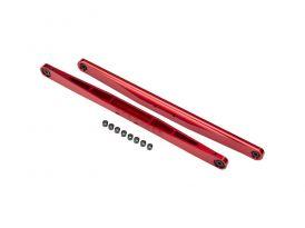 Traxxas kyvné rameno hliníkové červené (2)