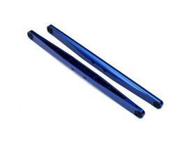Traxxas kyvné rameno hliníkové modré (2)