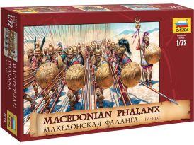 Zvezda figurky Macedonian Phalanx (1:72)