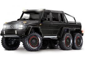 AKCIA - Traxxas TRX-6 Mercedes G 63 6x6 1:10 TQi RTR černý