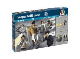 Italeri figurky - posádka Vosper MTB (1:35)