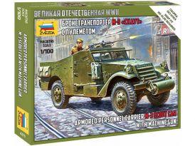 Zvezda M-3 Scout s kulometem (sovětská verze) (1:100)