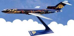VÝPREDAJ - 1:200 BOEING 727-2 ATA 25 JAHRE