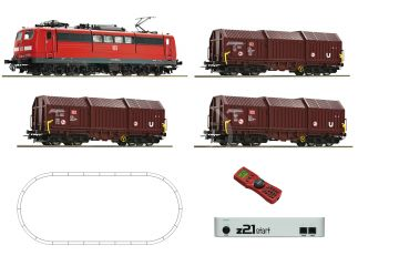 H0 - Roco 51293 DCC start set lokomotiva BR 151 DB, z21start + MultiMaus .
