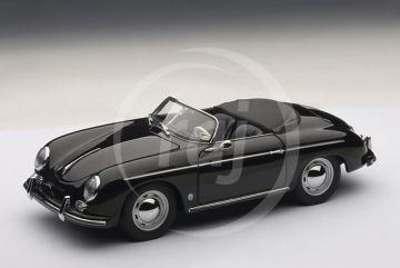 1:18 PORSCHE 356A SPEEDSTER EUROPEAN VERSION (BLACK) 1955