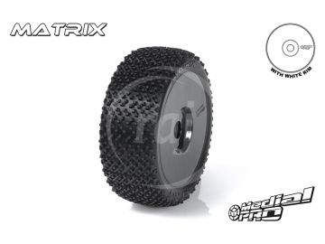 "Medial Pro kolo 3.3"" Rex H17/34mm, pneu Matrix M4 (pár)"