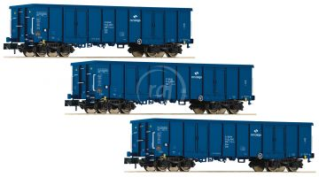 3 kusy gondola typu Eaos, PKP Cargo