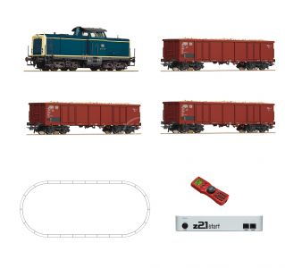 Roco 51299 H0 Digitálne set - vlak s lokomotívou BR211 DB s koľajami RO51299