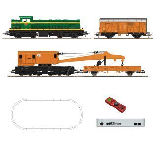 Roco 51305 H0 Digitálne set - vlak s lokomotívou D.307 RENFE s koľajami RO51305