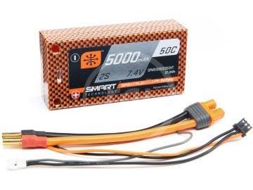 Spektrum Smart LiPo 7.4V 5000mAh 50C HC