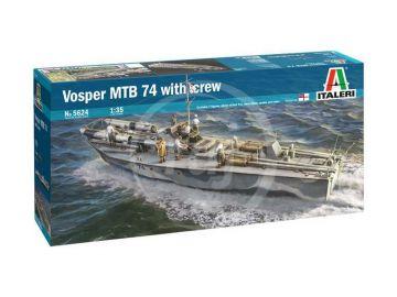 Italeri Vosper MTB 74 s posádkou (1:35)