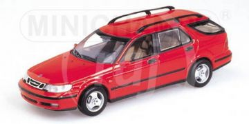 1:43 SAAB 9-5 BREAK 1999 IMOLA RED