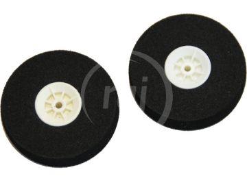 Mechové podvozkové kolo ploché 52mm (2)